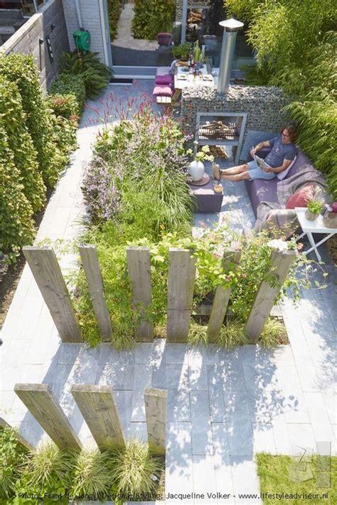 gartengestaltung ideen modern mediterrane gartengestaltung sitzgelegenheiten sichtschutz holz secret garden garten