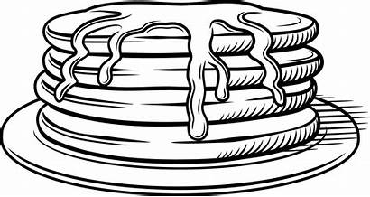 Clipart Pancake Outline Drawing Syrup Webstockreview