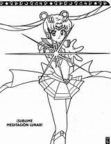 Sailor Moon Coloring Saturn Activity Vk Supers Volume Window Fruits Basket Anime sketch template