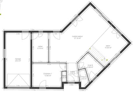 plan maison en v plan maison en v 130 m2 44 messages