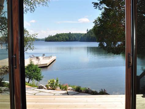 Muskoka Canada Family Compound Situated In Private Cove