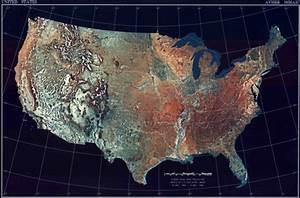 Map Of Usa  Satellite Map    Worldofmaps Net