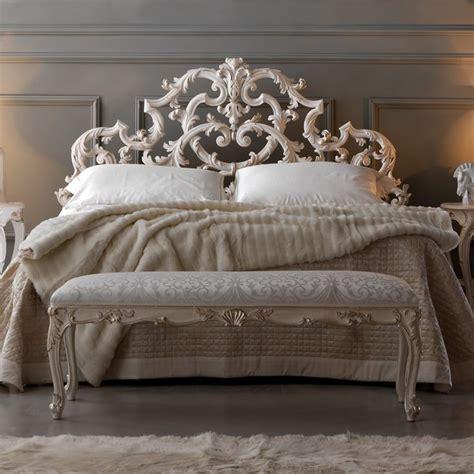 ornate rococo reproduction italian storage bed juliettes