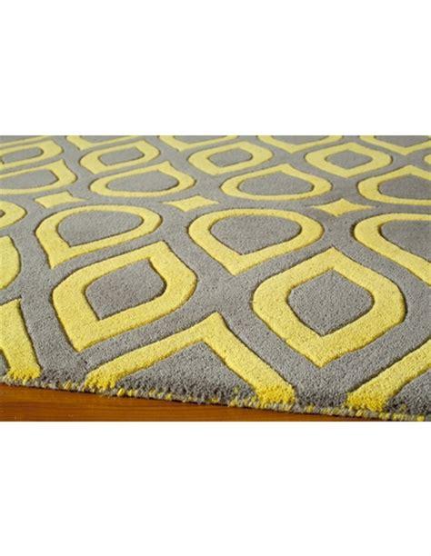 gray  yellow geometric delhi rug rosenberryroomscom