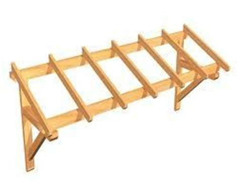 fabrication d une marquise en bois fabrication d une marquise pour porte de garage fabriquer des meubles avec des palettes
