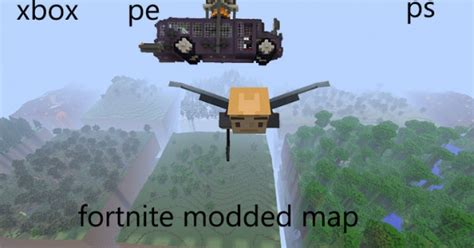 map fortnite minecraft pe map minecraft hub