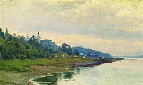 Plyos, 1889 - Isaac Levitan - WikiArt.org