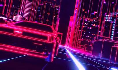 Retro Synthwave Wave Night Neon Retrowave Wallpapers