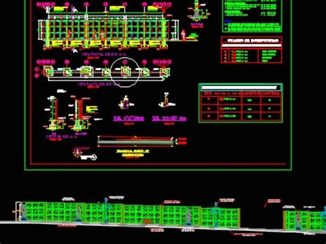 automated vertical garden structure  autocad cad