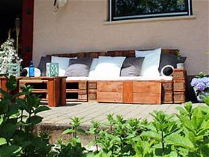 Bauanleitung Lounge Sofa : diy ideen f r den garten loungem bel aus paletten ~ Michelbontemps.com Haus und Dekorationen