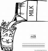 Lait Melk Verre Latte Milch Coloring Gifs Eten Drinken Soif Coloriage Dessin Animierte Boissons Measuring Cup Frais Plaatjes Animate Immagini sketch template