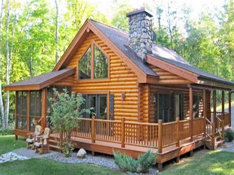 Log Home With Wrap Around Porch Plans