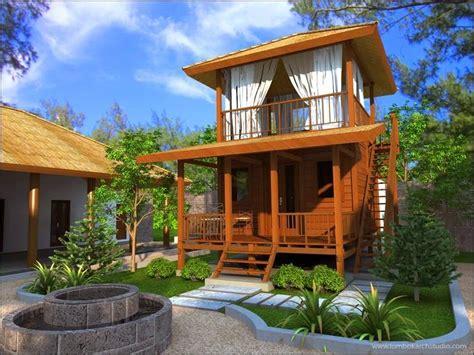 desain rumah batako contoh