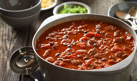 beef and black bean chili top 5 chili recipes beef loving texans