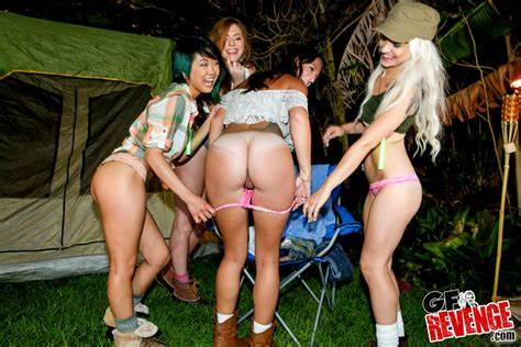 Camping Trip Turns Into A Free For All Swinger