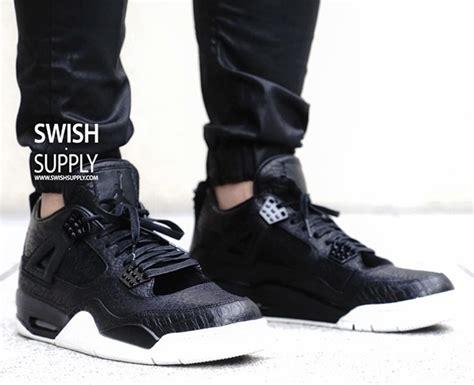 air jordan 4 premium black release date sneakerfiles