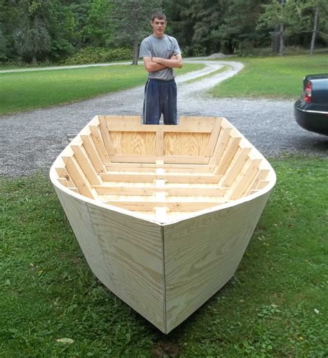 How To Build A Boat Easy simple plans to build a boat inside the plan