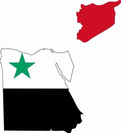 Arab Republic United Flag Map Svg Wikimedia