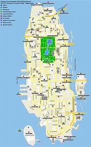 Grand Theft Auto IV Weapon Location Map Algonquin PNG