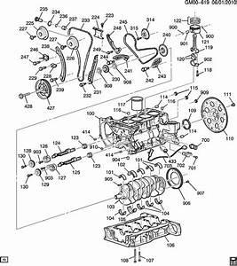 Chevrolet Equinox Key  Engine Crankshaft  Timing Gear  Key