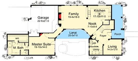 house plan with two master suites 16875wg