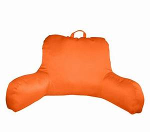 Bright Orange Neon Bed Rest Dorm Supplies College