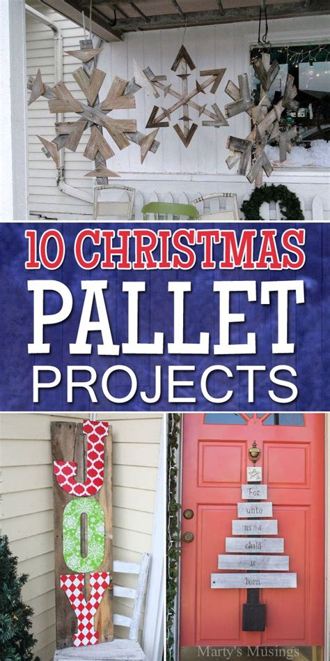 amazing christmas pallet projects pallet projects