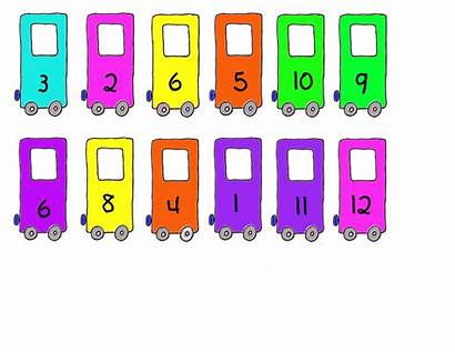 Clipart Sequence Sequencing Clip Number Train Clipground