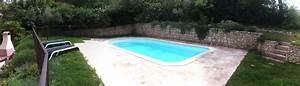 2012 01 piscine abords en pierre blb carrelage With contour de piscine en pierre