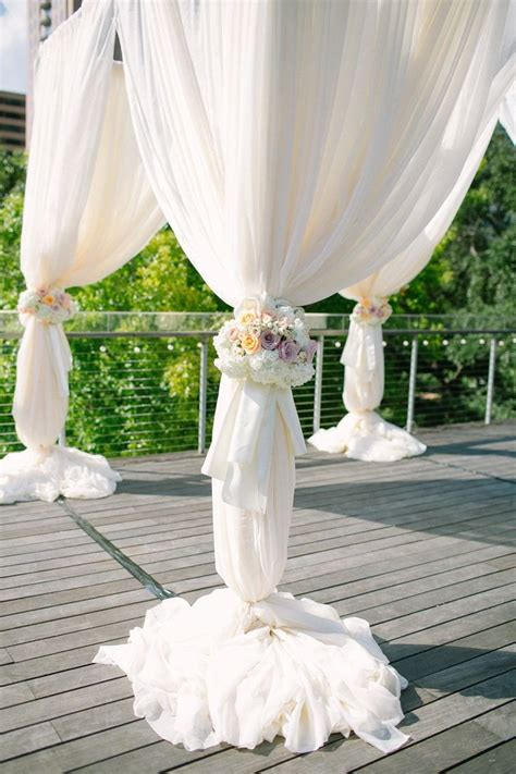 Wedding Draping Fabric - 168 best images about decor for ceremony structures on