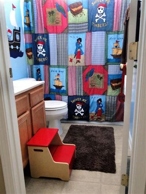 bathroom ideas for boy and 24 best images about kids bathroom shower curtains on
