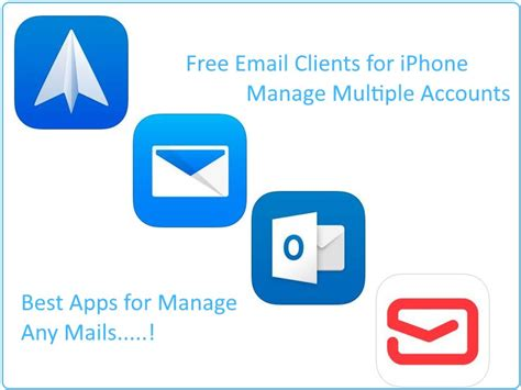 best iphone email app best free email clients for ios in 2018 mail app