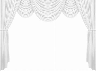 Curtain Clipart Curtains Transparent Decorative Elements Window