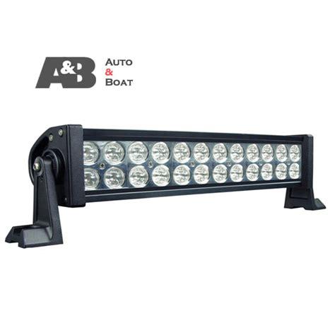 72w 16 inch led work light bar 4500 lumen spot flood beam