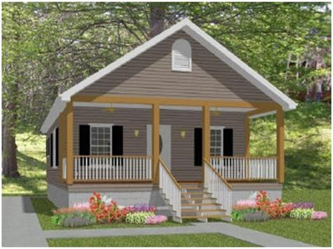 small cottage house plans  porches small country house
