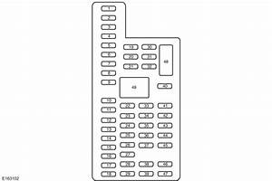 Lincoln Navigator  2015 - 2017  - Fuse Box Diagram