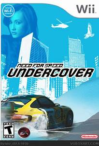 Need For Speed Wii : need for speed undercover wii box art cover by fabz 051 ~ Jslefanu.com Haus und Dekorationen