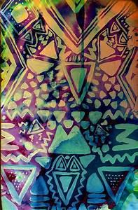 Aztec Print by sheebear on DeviantArt