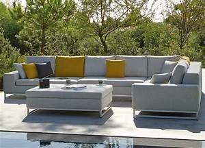 Modern Outdoor Sectional Design