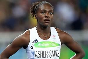 Dina Asher-Smith scrapes into 200m final at Rio 2016 but ...