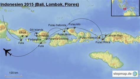 indonesien reise  bali lombok flores von