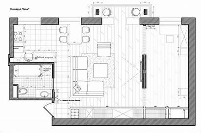 Studio Apartment Plans Floor Different Styles Apartments