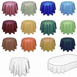 Tischdecke Weiß Bügelfrei : damast tischdecke in marmor design rund oder oval jacquard tafeltuch tischtuch ebay ~ Eleganceandgraceweddings.com Haus und Dekorationen