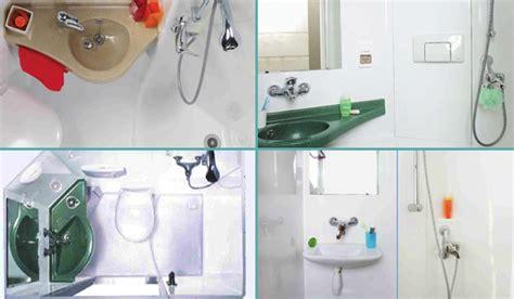 cuisines compactes salles de bain préfabriquées la salle d 39 eau intégrée 3 en 1