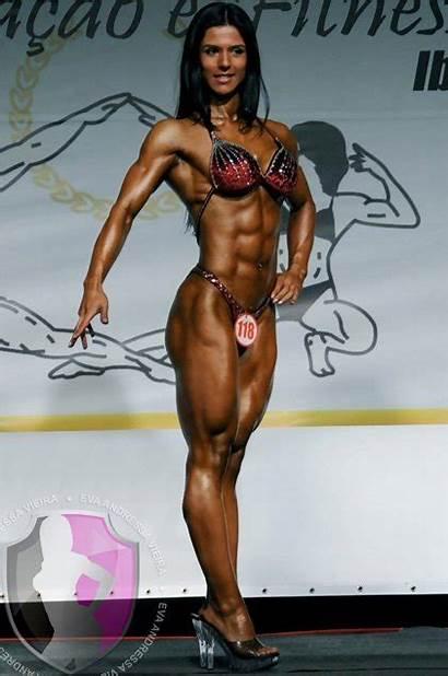 Fitness Eva Andressa Bodybuilding Muscle Vieira Girlfriend