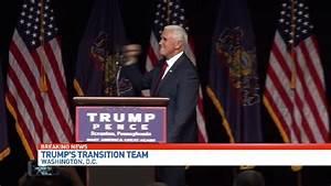 Pence leads Trump transition team   WPEC