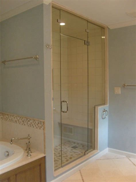 Steam Shower Doors by Steam Shower With Transom Basement Stuff