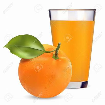 Juice Orange Clipart Naranja Jugo Glass Oranges