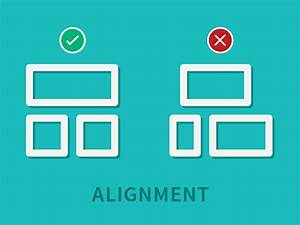 Design Principle: Alignment by Melanie Taube - Dribbble