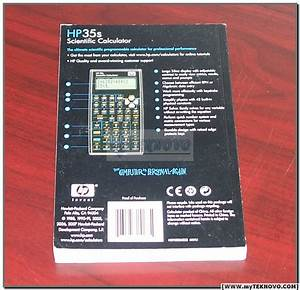 Hp 35s Calculator User U0026 39 S Guide Manual Hp Oem Brand New